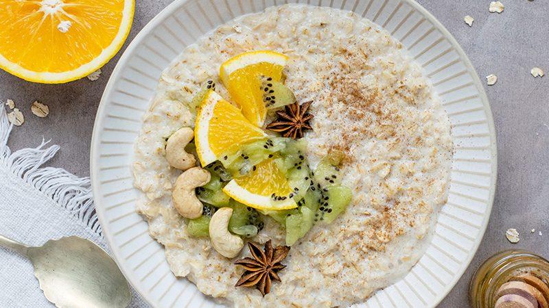 Hanfsamen Porridge