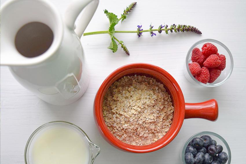 Toppings für Hanfsamen Porridge